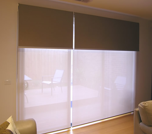 Dual Roller Blinds Double Roller Shades Window Roller Shades