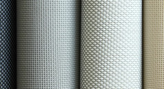 Solar screen fabric
