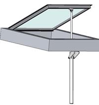 Skylight Opener Motorized Skylight Opener Window Opener